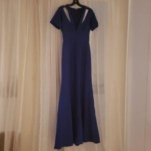 Gorgeous BCBGMaxAzria Royal Blue gown